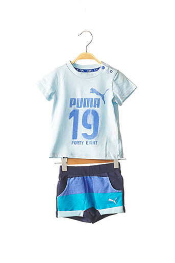Top/short bleu PUMA pour garçon