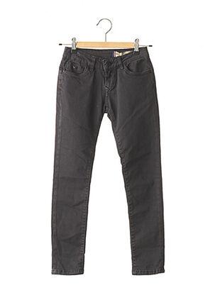 Jeans skinny noir KAPORAL pour fille