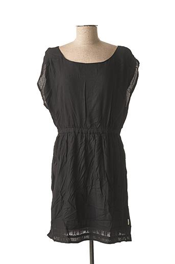Robe courte noir ELEMENT EDEN pour femme