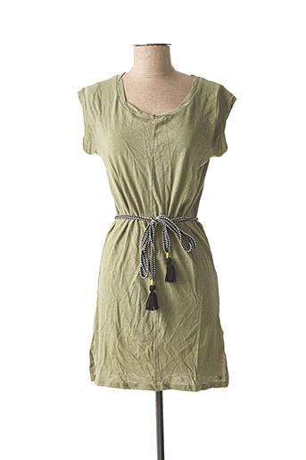 Robe courte vert DEELUXE pour femme