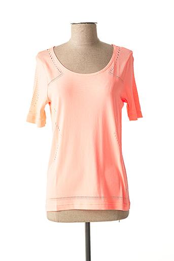 T-shirt manches courtes orange PUMA pour femme