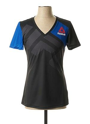T-shirt manches courtes noir REEBOK pour femme