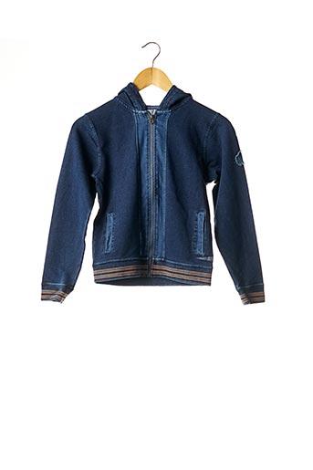 Veste casual bleu JAPAN RAGS pour fille