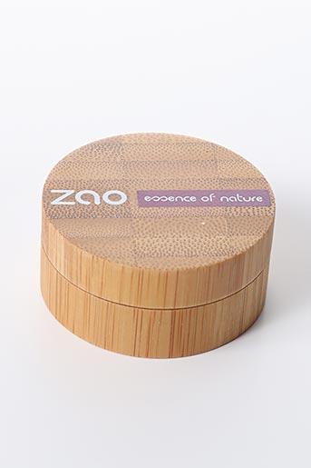 Maquillage noir ZAO pour femme
