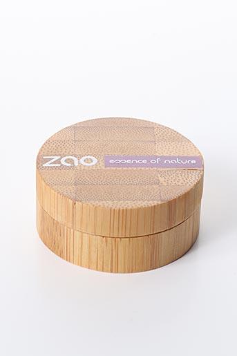 Maquillage violet ZAO pour femme