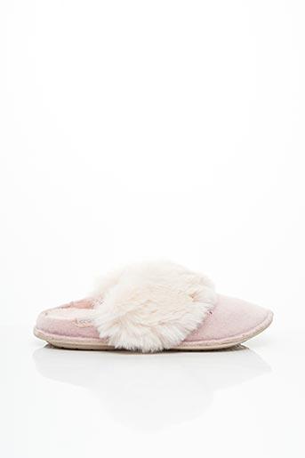 Chaussons/Pantoufles rose CROCS pour femme