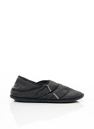 Chaussons/Pantoufles noir CROCS pour unisexe