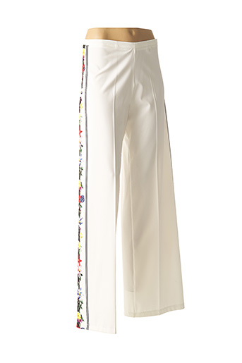 Pantalon chic blanc DANIELA COOL pour femme