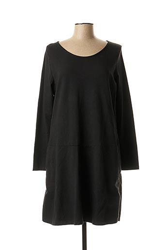 Robe mi-longue noir PAKO LITTO pour femme