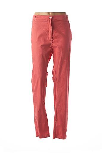 Pantalon casual orange KARTING pour femme