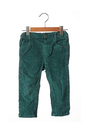 Pantalon casual vert BABY CLUB pour garçon