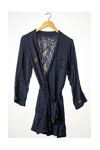 Robe de chambre bleu SANS MARQUE pour femme