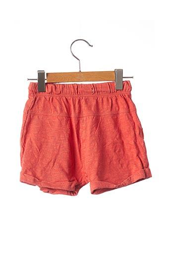 Short orange BABY BODEN pour garçon