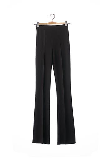 Pantalon casual noir LOAVIES pour femme
