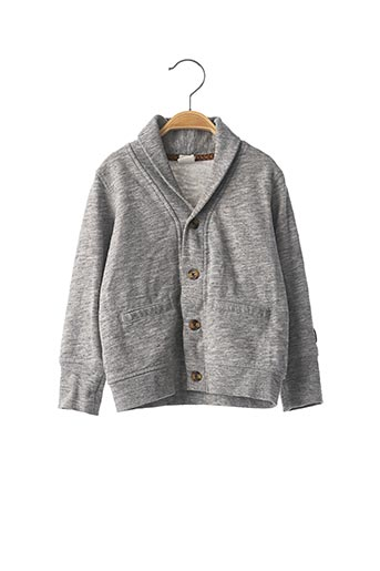 Gilet manches longues gris H&M pour garçon