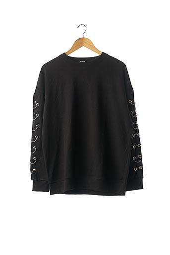 Sweat-shirt noir ZARA pour femme