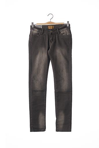Jeans skinny gris DAYSIE pour femme