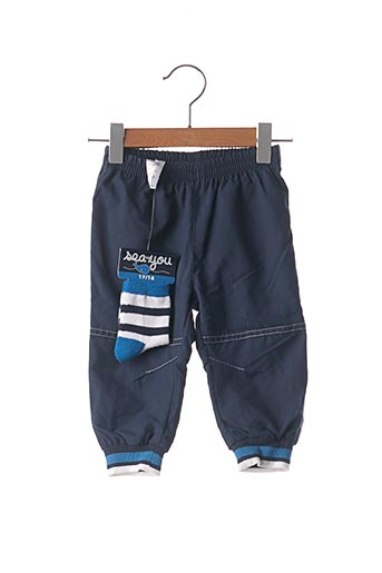 Pantalon casual bleu SEA YOU pour garçon