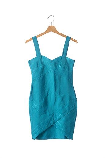 Robe courte bleu F &  P pour femme