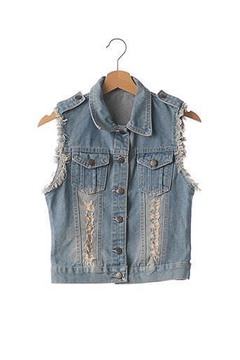 Veste en jean bleu ESTHER pour femme