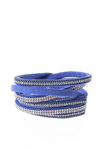 Bracelet Manchette bleu SANS MARQUE pour femme