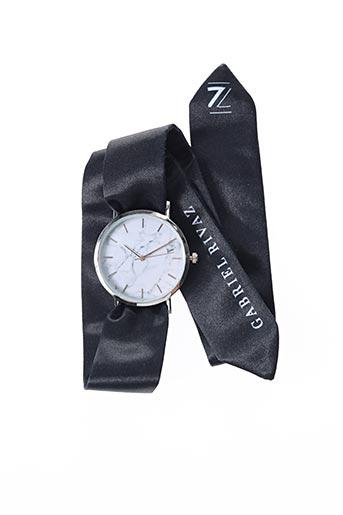 Bracelet de montre noir GABRIEL RIVAZ pour femme