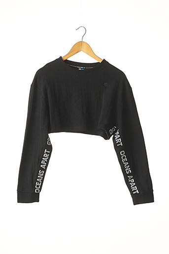 Sweat-shirt noir OCEANS APART pour femme
