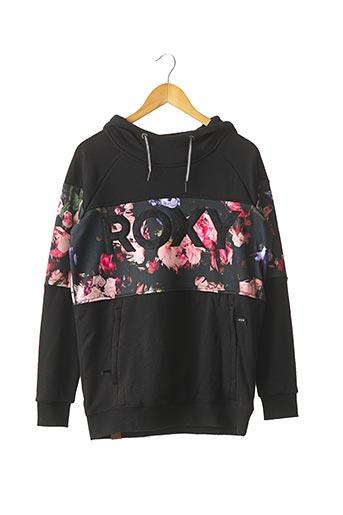 Sweat-shirt noir ROXY pour femme