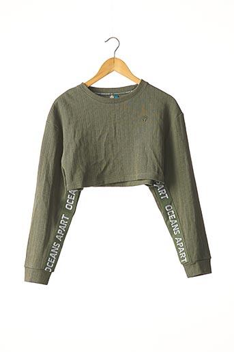 Sweat-shirt vert OCEANS APART pour femme