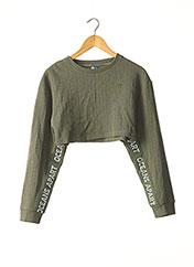 Sweat-shirt vert OCEANS APART pour femme seconde vue