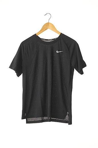 T-shirt manches courtes noir NIKE pour femme
