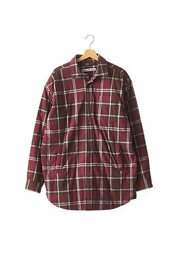 Manteau court rouge ACNE STUDIOS pour femme