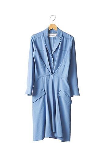 Robe mi-longue bleu CARVEN pour femme