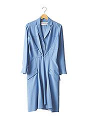Robe mi-longue bleu CARVEN pour femme seconde vue