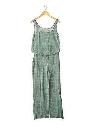 Top/pantalon vert FREE PEOPLE pour femme