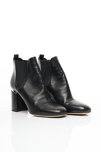 Bottines/Boots noir MIU MIU pour femme