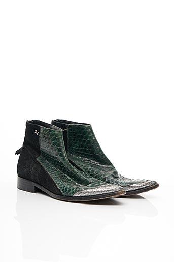 Bottines/Boots vert ZADIG & VOLTAIRE pour femme