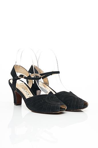Escarpins noir GOLDEN AGE pour femme