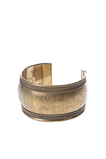 Bracelet Manchette jaune SANS MARQUE pour femme