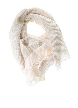 Foulard beige CAROLL pour femme