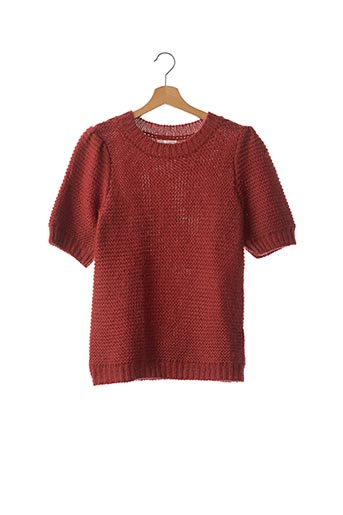 Pull col rond marron ANINE BING pour femme
