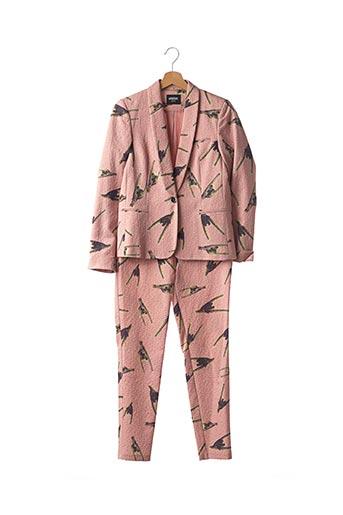 Veste/pantalon rose AMATOR pour femme