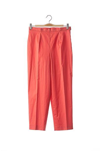 Pantalon 7/8 orange LOUIS FERAUD pour femme