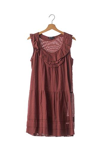 Robe mi-longue marron ISABEL MARANT pour femme