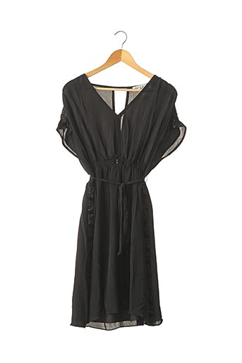 Robe mi-longue noir PAUL & JOE pour femme
