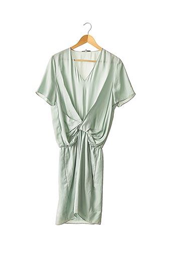 Robe mi-longue vert CARVEN pour femme