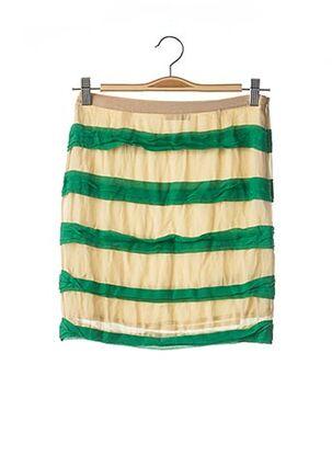 Jupe courte beige BY MALENE BIRGER pour femme