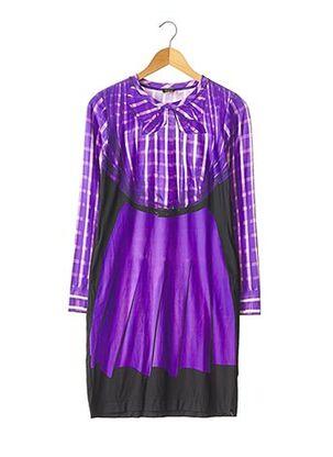 Robe mi-longue violet PAUL SMITH pour femme