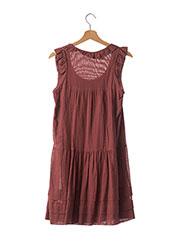 Robe mi-longue marron ISABEL MARANT pour femme seconde vue