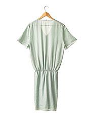 Robe mi-longue vert CARVEN pour femme seconde vue